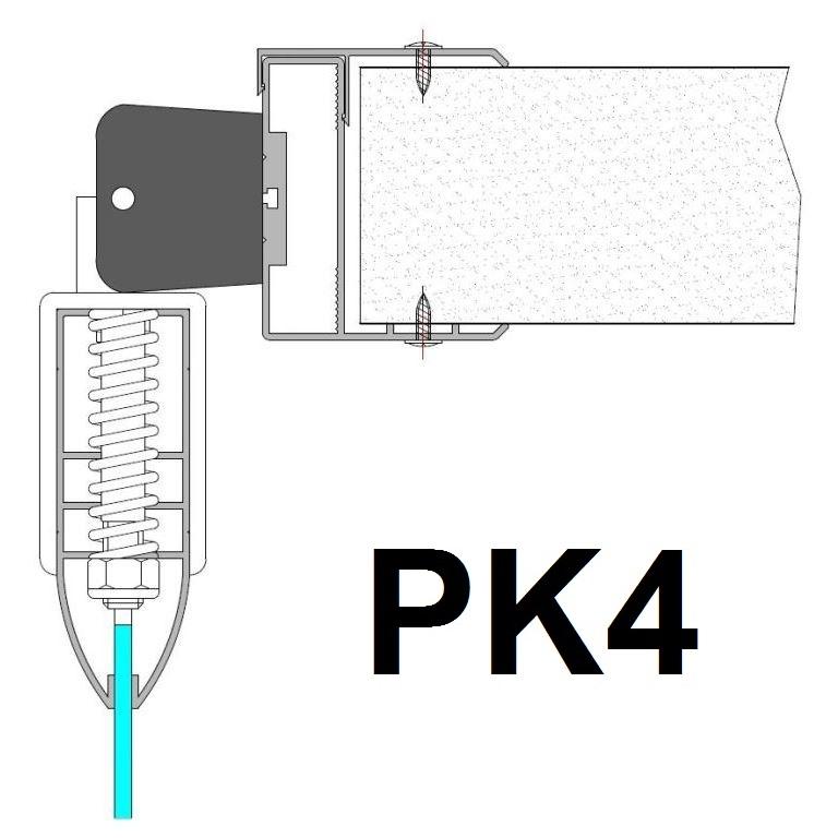 polycarbonat svingdøre - PK4