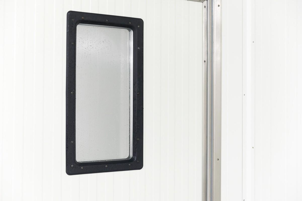 Paneldør med vindue