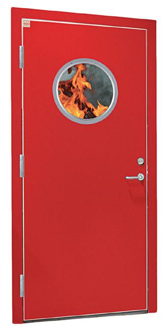 EI2-60 branddør til vådrum