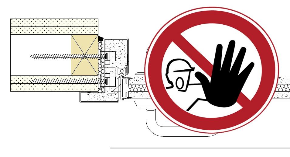 EI30 vådrumsdør kræver tilpasning af gipsvæg